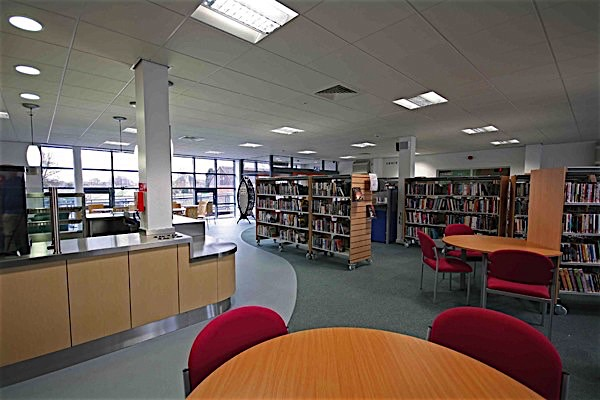 New Parks Library, Leicester